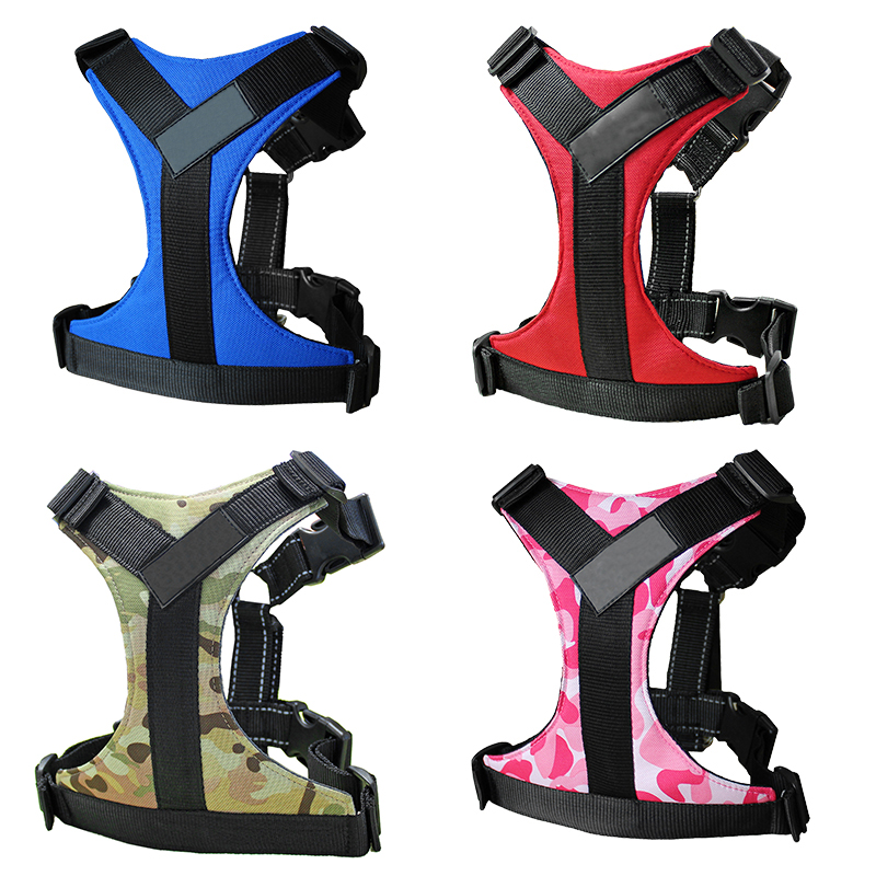 Dog vest harness chest back, adjustable reflection, quick release, suitable for medium and large dogs