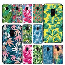 Caixa Do Telefone para Samsung Galaxy A6 palmeira Tropical Verão A8 Plus A7 A9 2018 A5 2017 18 J530 J7 j8(China)