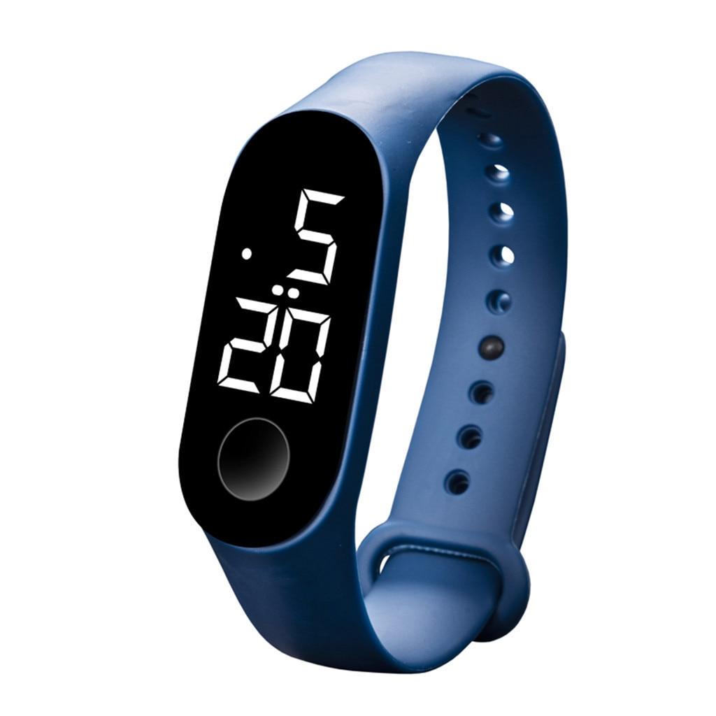 Hc44da1a06b9d40679d1ee6776f38f768K LED Electronic Sports Luminous Sensor Watches Fashion Men and Women Watches Dress Watch  fashion Waterproof Men's digital Watch
