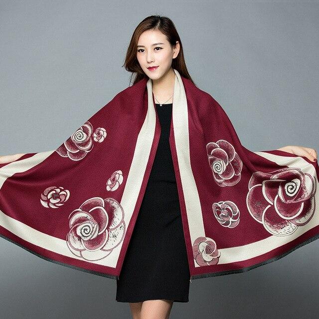 2019-New-Shawl-Women-s-Thickening-Warm-Pashmina-Cashmere-Scarf-Autumn-winter-Oversize-Soft-scarf-Shawl (28)