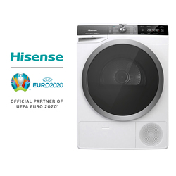 Hisense DHGS90M Secadora, Función vapor, Bomba de calor, Inicio diferido, 120L Volumen del tambor, Boton tactil