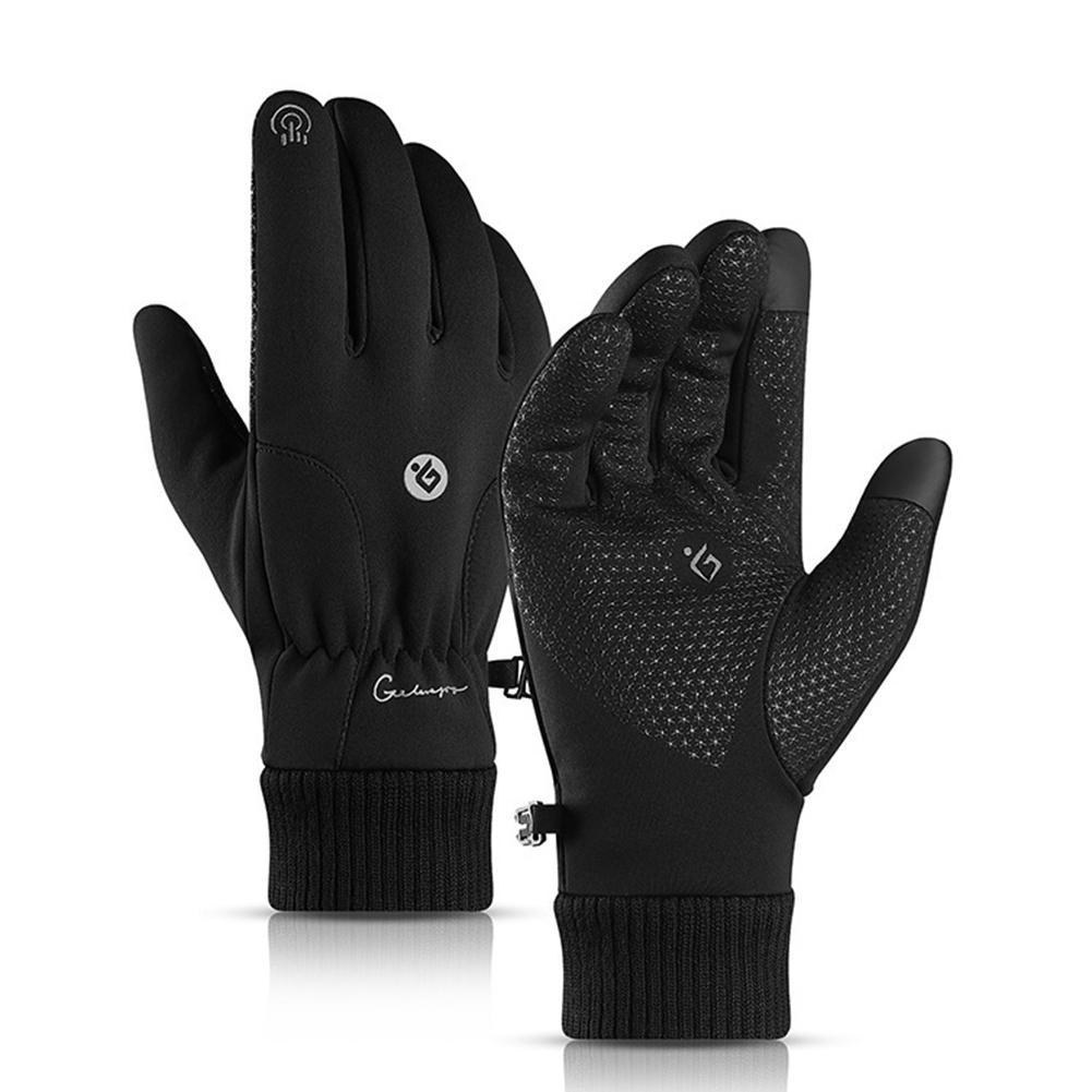 Stock Sporting Mens Warm Winter Skiing Gloves Fleece Ski Snowboard Snow Mittens