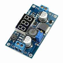 цена на LM2596 DC-DC Step Down Module DC DC Adjustable Voltage Regulator LED Voltmeter 4.0~40V to 1.25-37V Buck Adapter Power Supply