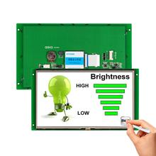 Flexible Touch Screen Displays 5.6 Inch TFT LCD Module With Board And UART Port g190eg02 v 1 lcd displays