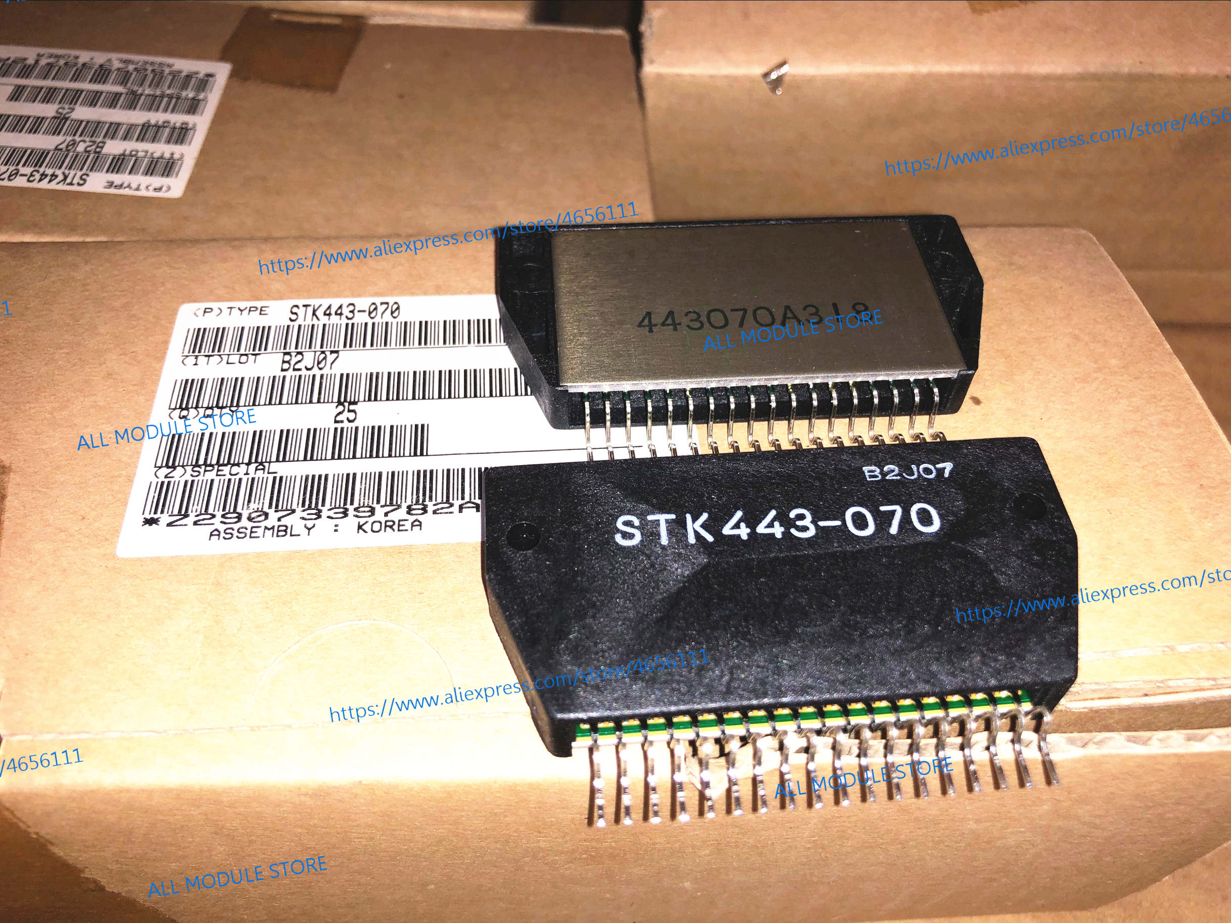 2PCS/LOT STK443-050   STK405-050 STK405-050A  STK443-070 FREE SHIPPING NEW AND ORIGINAL MODULE