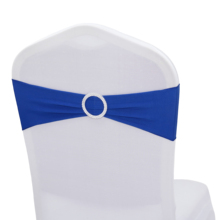 Sashes Elastic-Chair Party-Decoration Wedding High-Quality Banquet Event Bow with Round-Ring