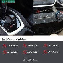 2 個/5 個/10 個ステンレス鋼車のステッカーフォード smax S MAX