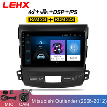 Car Android 8 1 Car Radio Multimedia Player Navigation GPS For Mitsubishi Outlander Peugeot 4007 2006 2007-2010 2011 2Din No DvD cheap LEHX CN(Origin) Double Din 9 quot 50x4 128G DVD-R RW DVD-RAM Video CD JPEG gray 1024*900 1 8kg Bluetooth Built-in GPS Charger