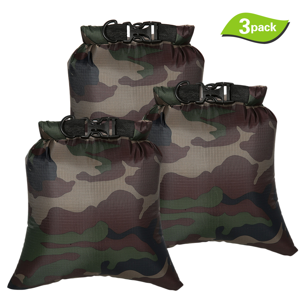 8L Outdoor Waterproof Storage Bags Dry Sacks Watertight Swimming Bag Smartphone Camera Storage Bags For Drifting Water Sports