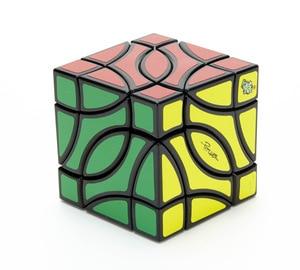 Image 4 - Lanlan Pitcher 4 Corner Black Cubo Magico Cube Educational Toy Gift Idea