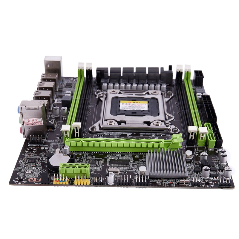 X79G LGA2011 Practical Desktop Computer Mainboard Wtih SATA 3.0/2.0 USB 2.0 DDR3 1600 64G 2 Channel Motherboard For Intel