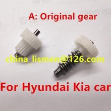 Originele 30 Tanden Motor Achteruitkijkspiegel Plastic Gear Voor Hyundai Tucson Sonata Santafe Kia Nieuwe Carens K3 K5 Opirus Villa auto