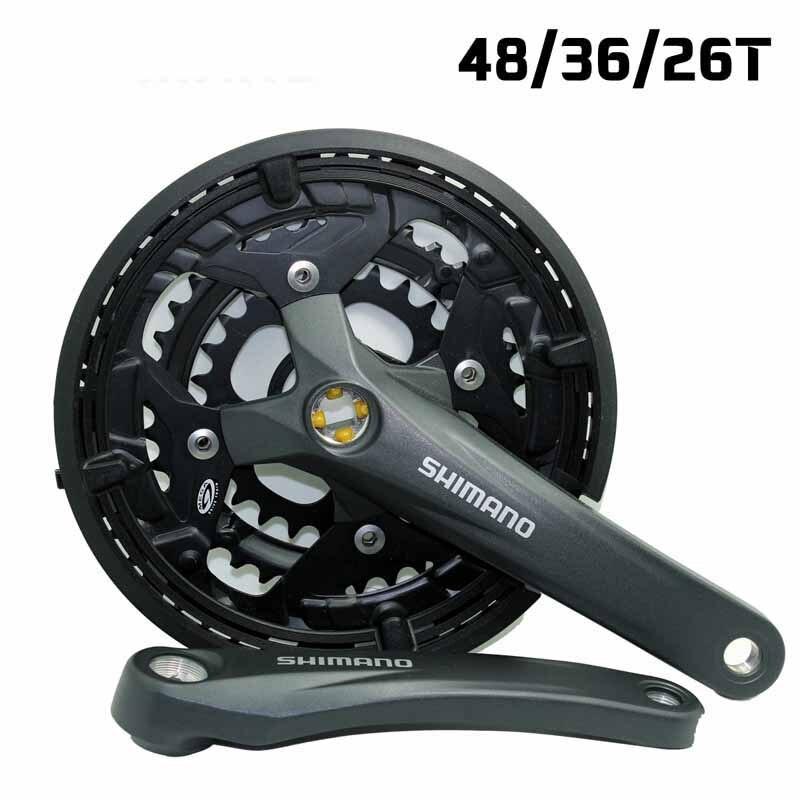 Shimano FC-M391 Mountain BIcycle Acera 9 speed Crankset 48//36//26 170mm Black