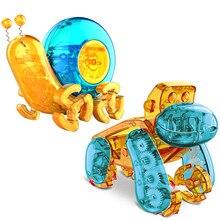 Toy-Kit Robot Powered-Toys Solar-Assembly Educational Kids DIY Plastic Puzzle Orangutan