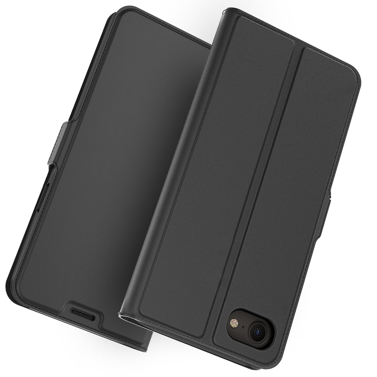 Card Case For 4.7 Iphone SE 2020 Case PU Leather Flip Stand Wallet Full Protective Shockproof Cover For Iphone 11 Pro Max Shell