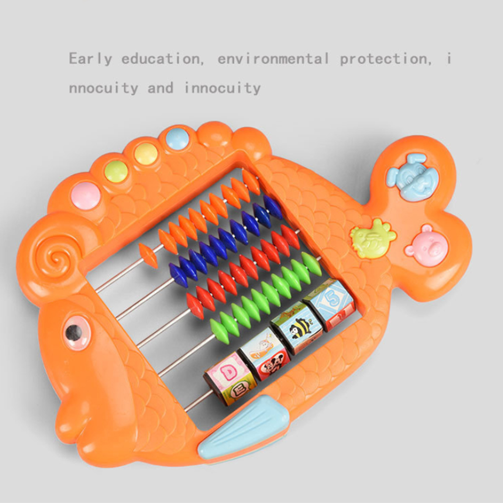 Plastic Abacus Arithmetic 7 Digits Kids Maths Calculating Tools Chinese Abacus Toys Abacus Educational Small Size