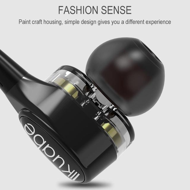 Anti-noise Earphone Sports Earbuds HIFI Headset Lightweight
