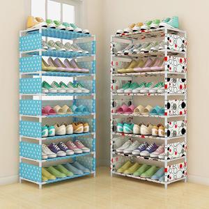 Multi-layer Shoe Rack Storage Home Furniture Closet Shoes Storage Shelf Organizer with Metal Shelves