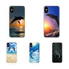 Dolphin For Galaxy Grand A3 A5 A7 A8 A9 A9S On5 On7 Plus Pro Star 2015 2016 2017 2018 Back Cases Protective