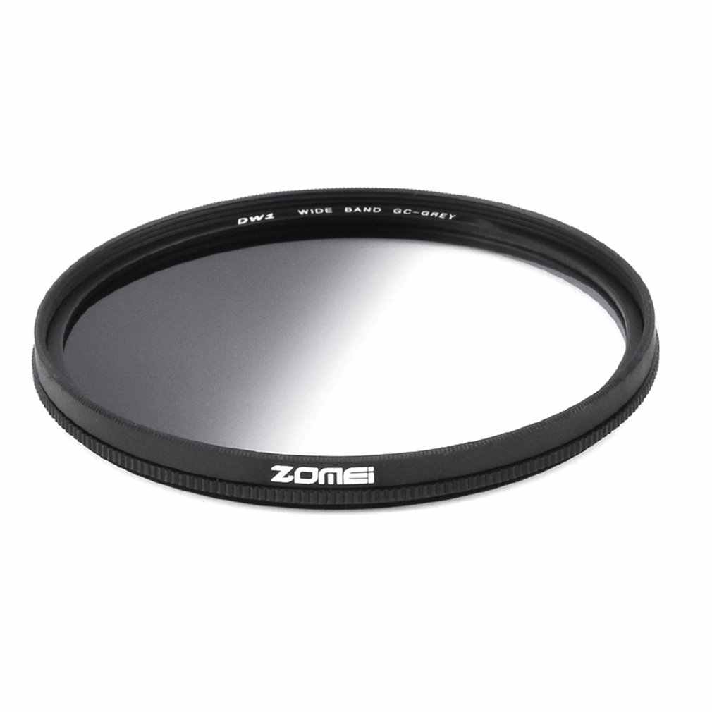 Zomei Penyaring Bentuk Lingkaran Sangat Tipis Ringan Lulus Abu-abu Netral Kepadatan ND Filter Optik untuk Kamera 49 Mm 52 Mm 58 Mm 67 MM 72 Mm 77 Mm