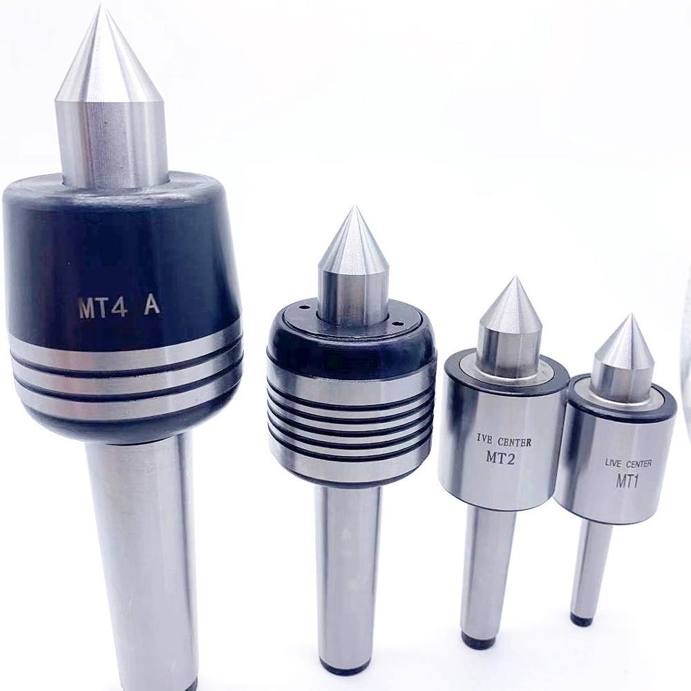 For Precision Live Center MT1 MT2 MT3 MT4 Diameter Live Center For Lathe Machine Revolving Centre