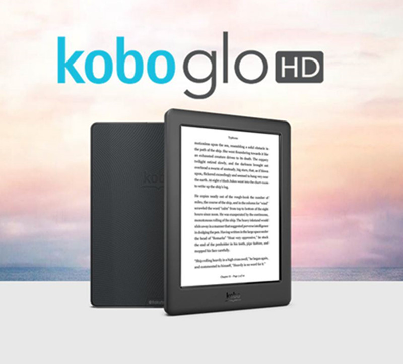 Электронная книга Kobo Glo HD 300PPI, электронная книга 6 дюймов 4G с электронными чернилами, электронная книга с сенсорным экраном HD 1448x1072, цифровая ...