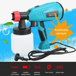 Verwijderbare Hoge Druk Elektrische Sproeier Latex Verf Spuiten Machine 800w Airless Verf Spray