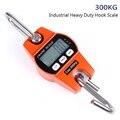 300kg Mini LCD Digital Tragbare Industrie Elektronische Heavy Duty Gewicht Haken Kran Hängen Skala Küche Gewicht Skala