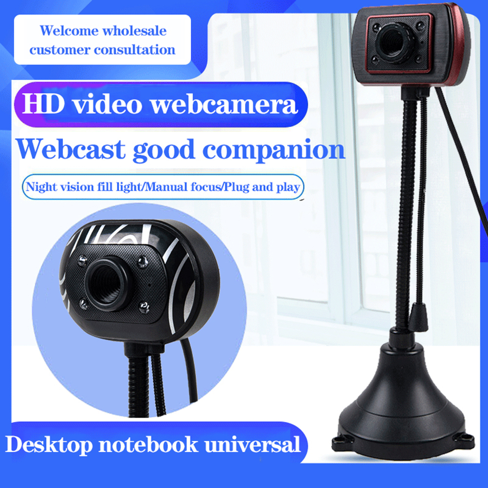 Webcam Computer Cameras USB 2.0 Plug and play 1.5M PC Camera HD Webcam Web Cam with Microphone for PC Laptop Camera web camera 1