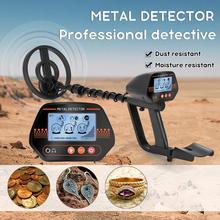 Md830 portátil ouro subterrâneo detector de metais alta sensibilidade escavador caçador de tesouros localizador pinpointer detector de ouro