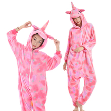 Animal Unicorn Pajamas kids mother and daughter clothes jumpsuit pajamas for girls Cosplay Costume Halloween