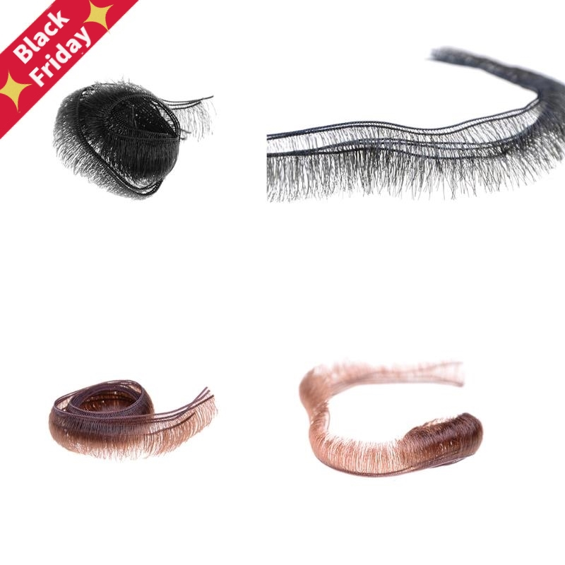 5Pcs Width 0.5/0.8/1.0cm Eyelashes For Doll Baby Dolls Accessories Doll Eyelashes Accessory