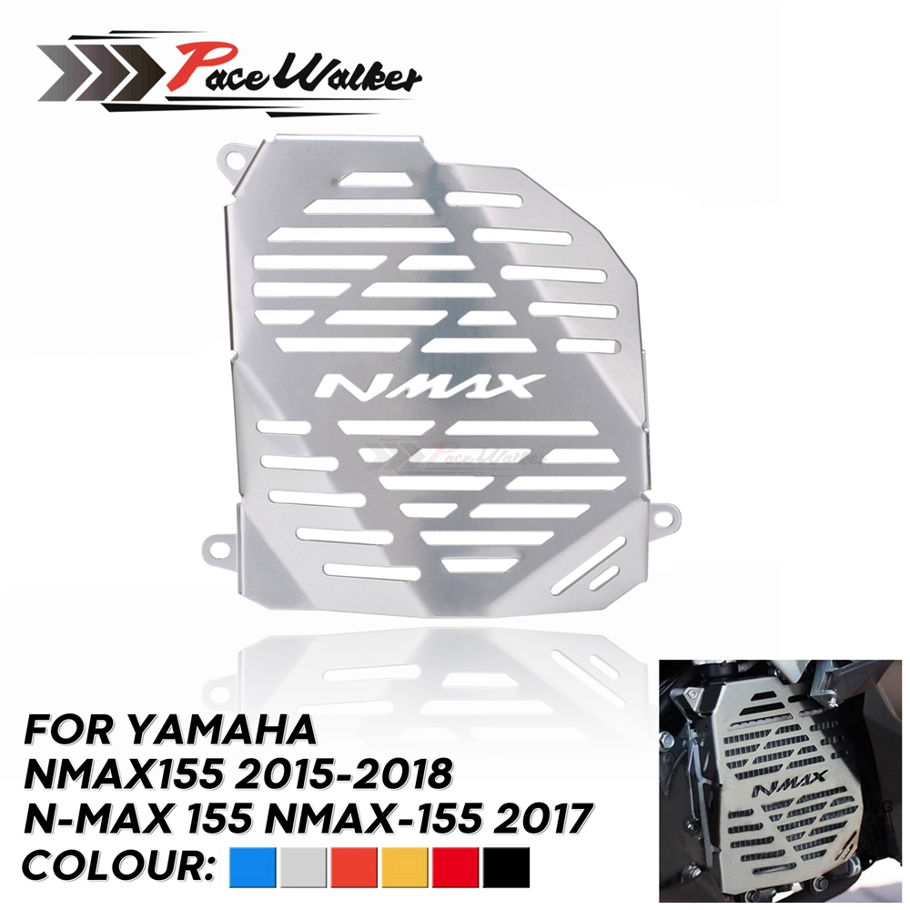 For <font><b>NMAX</b></font> <font><b>155</b></font> MAX155 NMAX155 2015-2018 Motorcycle Radiator Grille Guard Cover Protector tank Accessories image