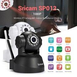 Sricam SP012 kamera IP Wifi 1080P CCTV bezprzewodowy inteligentne bezpieczeństwo wersja nocna niania elektroniczna baby monitor kamera monitorująca dwukierunkowej głos w Kamery nadzoru od Bezpieczeństwo i ochrona na