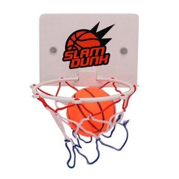 Juego de Mini aro de baloncesto portátil para interior, juego de baloncesto para niños y adultos