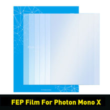 FEP Film For Photon Mono X Resin 3D Printer Part 200*140/240*165/280*200mm SLA/LCD FEP Sheets 0.15mm FEP Film For 8.9 inch Lcd