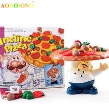 Захватывающая балансирующая игра в пиццу, забавные Семейные друзья, Вечерние игры, развлекательные игрушки для детей, подарки на Рождество и год