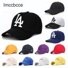 Unisexe Lettre Casquette de Baseball LA Dodgers Broderie Tactique Snapback Chapeau Extérieur Hip Hop Chapeaux Pour Hommes Femmes Réglable Casquettes Décontractées