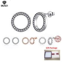 HOT SALE 925 Sterling Silver Fashion Stud Earrings For Women
