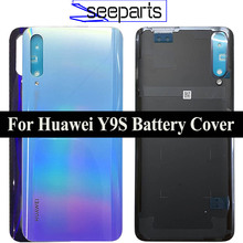 Original For Huawei Y9s Battery Cover P smart Pro 2019 Rear Door Housing Back Case Replaced Phone For Huawei Y9S Back Cover