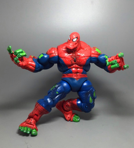 Toy Biz Marvel Legends Spiderman Classics Spider-Hulk Action Figure Loose Rare