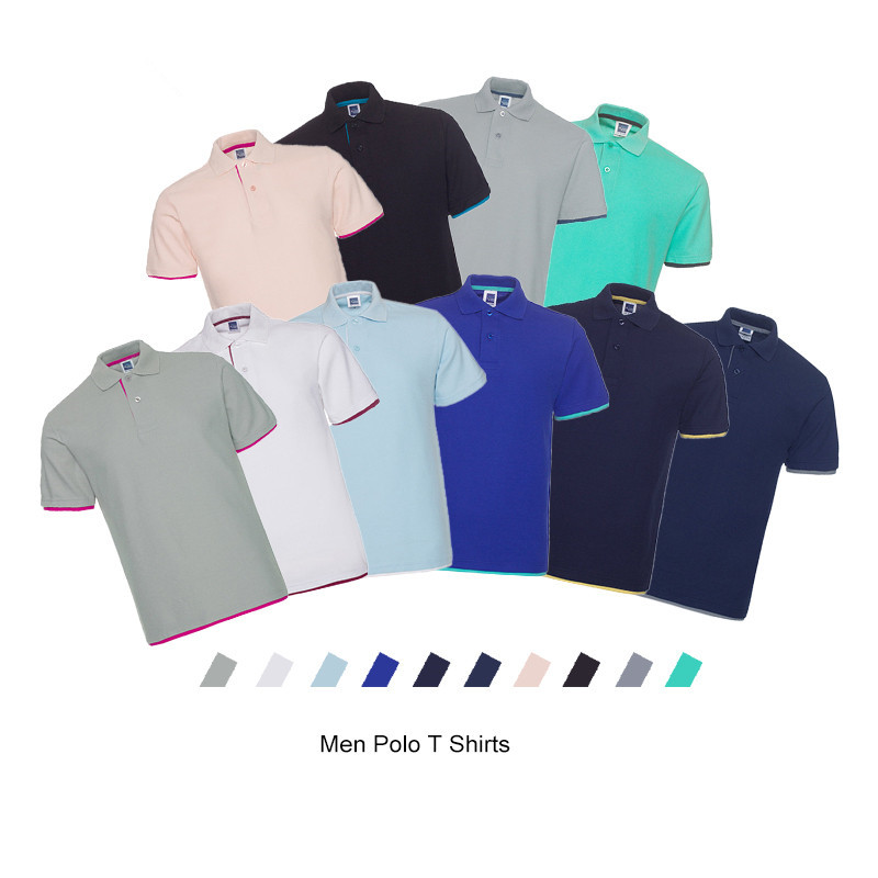 Men's Polo Shirt Summer Brand Clothing Pure Cotton Men Business Casual Male Polo Shirts Short Sleeve Breathable Soft Polo Shirt