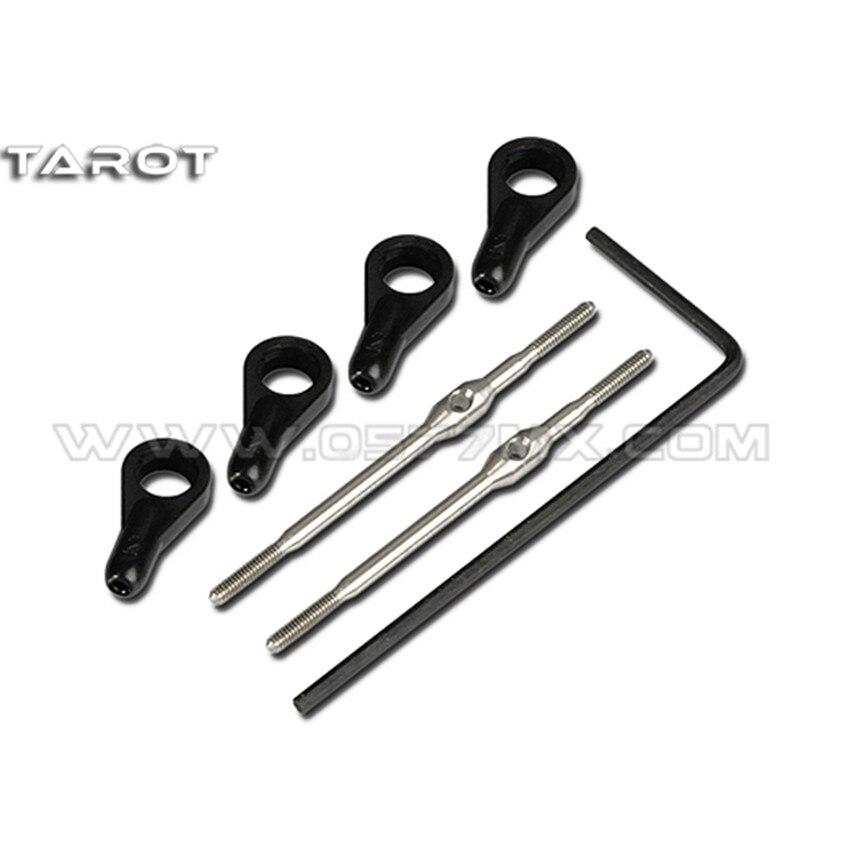 TL45116-02 Tarot 450 PRO Two-way Fine Adjustable Servo Linkage Rods