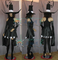 Halloween Dress!! Anime Soul Eater Demon Cat Beja Cosplay Costume Black Witch Clothes Unisex Festival /Party Role Play Clothing