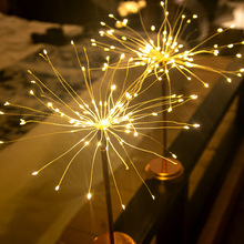 Dandelion Fireworks Fairy Lights Girl Heart Bedroom Romantic Twinkle Decor Night Table Lights Birthday Presents For Friends