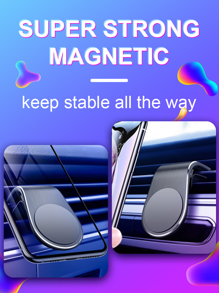 CASEIER Car Phone Holder For Phone In Car Air Vent Clip Mount Magnetic Mobile Phone Holder GPS Stand For IPhone 11 11 Pro Max