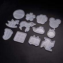 Поделки смоляные силиконовые формы с принтом зыбучих песков
