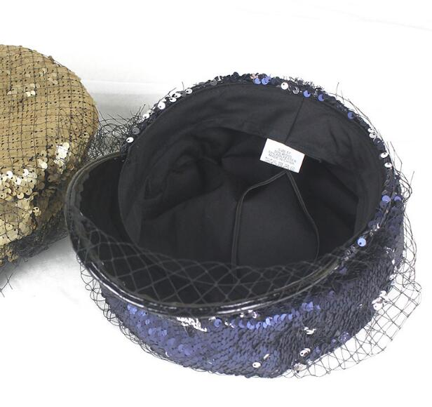 2021 Summer Five Colors Mesh Adjustable Snapback Sun Hat Flat Brim Unisex Fashion Sequins Baseball Cap Clever