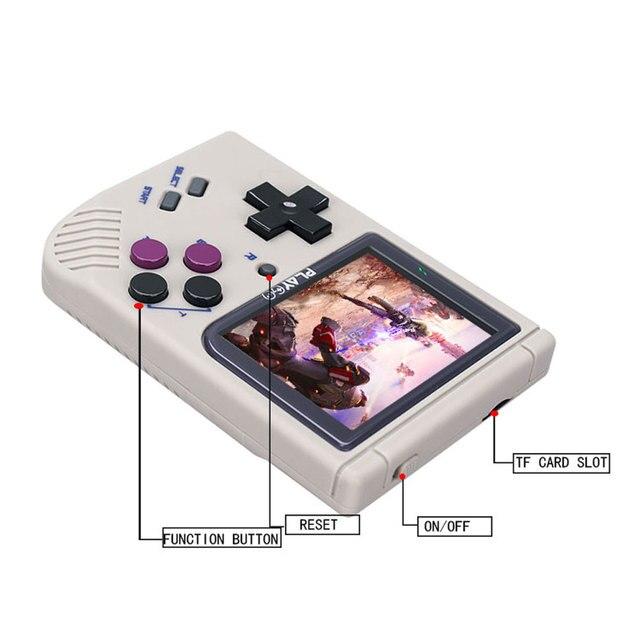 Przenośna konsola do gier konsola emulatora Playgo wbudowana w 1000 gry konsola do gier postęp zapisz/załaduj symulator 8GB