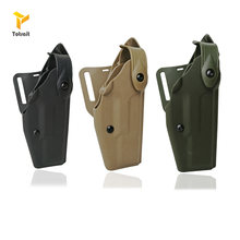 Тактическая полиуретановая поясная кобура safariland glock для